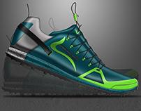 Jungle Marathon Footwear Design