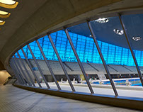 London Aquatics Centre, Zaha Hadid