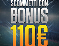 flyer for an italian betting promotion