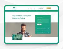 Fix Hair Istanbul - Website