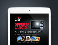 Citi Bank - Citi Travel Pass Landing Page