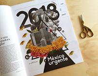 Portadilla Letras Libres México. Enero 2018