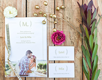 Wedding Stationary & Logo