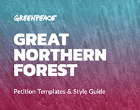 Great Northern Forest Petition Templates & Style Guide
