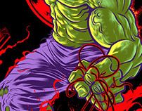 Officially Licensed MARVEL Hulk ART Print