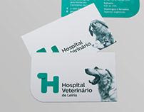Hospital Veterinário de Leiria - Identidade gráfica