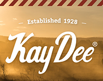 Kay Dee Logo Redesign & Packaging