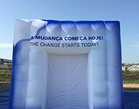 Tenda Insuflável 12x6