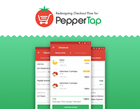 PepperTap Checkout - A Visual Redesign