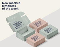 New mockup template of the week