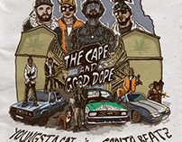 YoungstaCPT x Ganja Beatz - Cape & Good Dope cover art