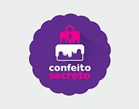 Identidade Visual Confeito Secreto