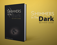 Shimmers in the Dark -  Book cover (ReDesign)