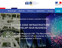 Young Entrepreneurs Initiative. Website Design