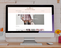 Feminine Styled WordPress Blog Theme