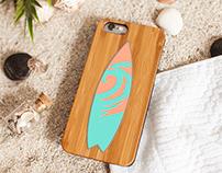 Surfboard Phone Case