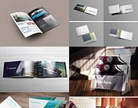 20 Free Magazine, Book & Brochure PSD Mock-up Templates