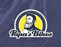 Bapa's Bikes - bicycle store and workshop logo
