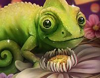 Lizard Under the Lights - Fan Art Fifteenth