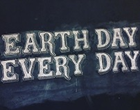 Earth Day Chalk Board