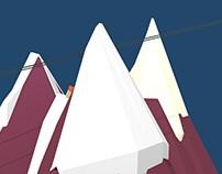 3D - Montagne
