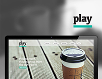 Play Web Design Concept
