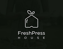 Fresh Press House Branding