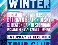 Freezing Winter Flyer Template