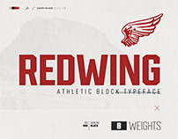 Redwing | Athletic Display Font - Two FREE Weights