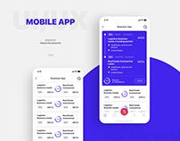 Mobile app for investor
