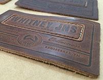 leather denim