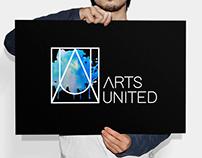 Arts United branding and website