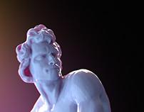 Bernini's David (WIP)