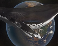 3d_ Space Whale