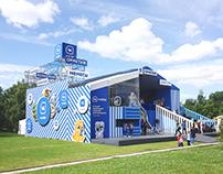 VK Mobile stand on Vk fest 2017