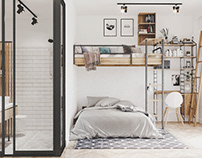 Bedroom KID Scandinavian