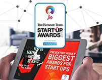 ET StartUp Awards- An iPad App for the Jury