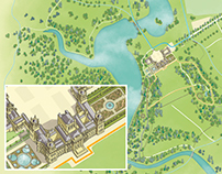 Blenheim Palace Interactive Google Map Skin