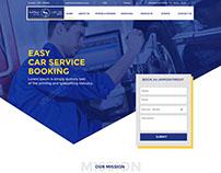 Car Service Booking Website