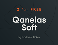 Qanelas Soft Typeface