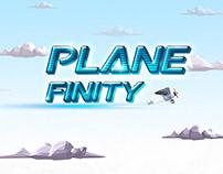 PlaneFinity Side-flying Game