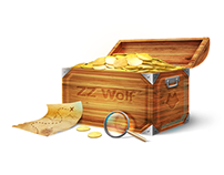 ZZ Wolf Treasure chest