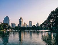 Lumphini Park, Bangkok.