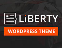 Liberty News - Magazine, Blog WordPress Theme