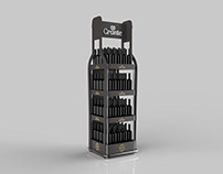 Grante Wine Display Stand