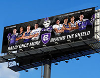 2015 Holy Cross Rise Together Billboard