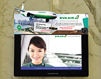 Eva Air Top mount banner