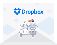 Dropbox | Streamlining Dropbox's visual identity