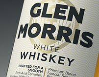 Label for Scotch whiskey. Concept