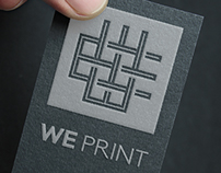 We Print | Logo & Identity Design